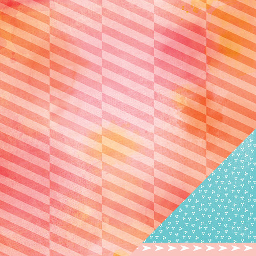 American Crafts - Amy Tangerine Collection - Yes, Please - 12 x 12 Double Sided Paper - Priority