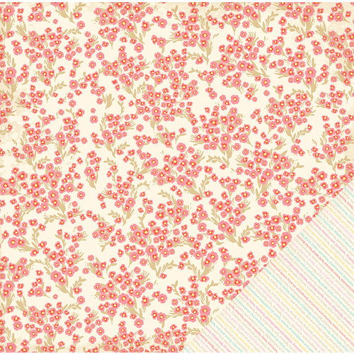 American Crafts - Dear Lizzy Lucky Charm Collection - 12 x 12 Double Sided Paper - Little Trinket