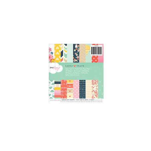 American Crafts - Dear Lizzy Lucky Charm Collection - 6 x 6 Paper Pad