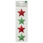 American Crafts - Christmas - Dimensional Stickers - Star
