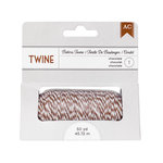 American Crafts - Bakers Twine - Chocolate