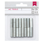 American Crafts - Mini Stapler Refills - Silver
