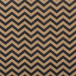 American Crafts - DIY Specialty Paper Collection - 12 x 12 Printed Burlap - Chevron