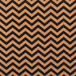 American Crafts - DIY Specialty Paper Collection - 12 x 12 Cork - Chevron