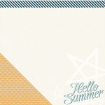 Pink Paislee - Solstice Collection - 12 x 12 Double Sided Paper - Daytona