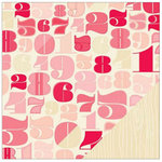 American Crafts - Shimelle Collection - 12 x 12 Double Sided Paper - Hall