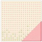 American Crafts - Shimelle Collection - 12 x 12 Double Sided Paper with Glitter Accents - Ride