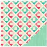 American Crafts - Shimelle Collection - 12 x 12 Double Sided Paper - Harding