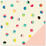 American Crafts - Shimelle Collection - 12 x 12 Double Sided Paper - Baxter
