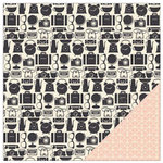 American Crafts - Shimelle Collection - 12 x 12 Double Sided Paper - Sharman