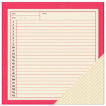 American Crafts - Shimelle Collection - 12 x 12 Double Sided Paper - Winlock