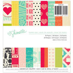 American Crafts - Shimelle Collection - 6 x 6 Paper Pad