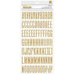 American Crafts - Shimelle Collection - Thickers - Glitter Foam - Fitzgerald - Gold