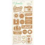 American Crafts - Shimelle Collection - Cork Stickers