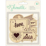 American Crafts - Shimelle Collection - Wood Veneer Shapes
