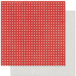 Pink Paislee - Merry and Bright Collection - Christmas - 12 x 12 Double Sided Paper - Reindeer