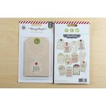 Pink Paislee - Merry and Bright Collection - Christmas - Kraft Tags
