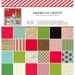 American Crafts - Christmas - 12 x 12 Paper Pad - Christmas