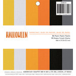 American Crafts - Halloween Collection - 6 x 6 Paper Pad - Halloween