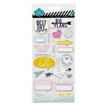 Heidi Swapp - Chipboard Stickers - Hello