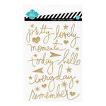 Heidi Swapp - Glitter Word Stickers - Mixed Company