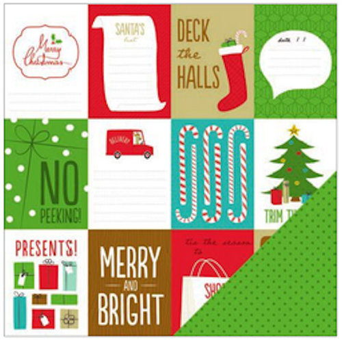 american crafts be merry christmas cards paper