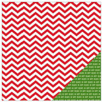 American Crafts - Be Merry Collection - Christmas - 12 x 12 Double Sided Paper - Holiday Cheer
