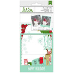 American Crafts - Be Merry Collection - Christmas - Photo Overlays - Frost