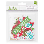 American Crafts - Be Merry Collection - Christmas - Ephemera - Cookies