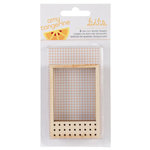 American Crafts - Amy Tangerine Collection - Stitched - Wood Veneer Pieces - Frames