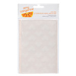American Crafts - Amy Tangerine Collection - Stitched - Embossing Folder - Love Spun