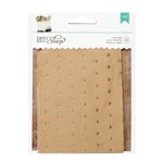 American Crafts - DIY Shop 2 Collection - Treat Bags - Gold Dot