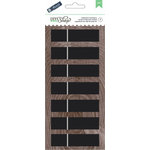 American Crafts - DIY Shop 2 Collection - Clothespins - Large - Chalkboard