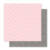 Pink Paislee - Bella Rouge Collection - 12 x 12 Double Sided Paper - Rainbow Bright
