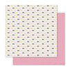 Pink Paislee - Bella Rouge Collection - 12 x 12 Double Sided Paper - Pretty Bows