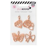 Pink Paislee - Bella Rouge Collection - Charms
