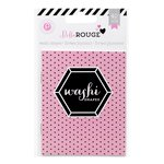Pink Paislee - Bella Rouge Collection - Washi Shapes