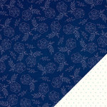 American Crafts - Dear Lizzy Serendipity Collection - 12 x 12 Double Sided Paper - Bright Blueberry