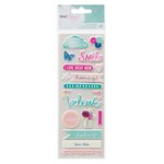 American Crafts - Dear Lizzy Collection - Serendipity - Puffy Stickers