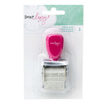 American Crafts - Dear Lizzy Serendipity Collection - Roller Phrases Stamp