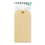 Heidi Swapp - Wanderlust Collection - Printed Kraft Tags With Gold Foil