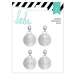 Heidi Swapp - Wanderlust Collection - Metal Charms - Circles