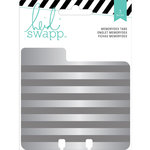 Heidi Swapp - Wanderlust Collection - Memorydex - Cards - Embossed Tin Tabs