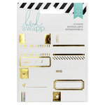 Heidi Swapp - Wanderlust Collection - Foil Stickers - Label