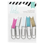 Heidi Swapp - Wanderlust Collection - Paper Clip Flags
