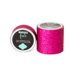 Heidi Swapp - Marquee Love Collection - Glitter Tape - Pink - 0.875 Inches Wide