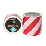 Heidi Swapp - Marquee Love Collection - Washi Tape - Red Stripe - 2 Inches Wide