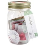 American Crafts - DIY Shop Collection - Mason Jars - Mini Cards