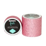 Heidi Swapp - Marquee Love Collection - Glitter Tape - Pale Pink - 2 Inches Wide