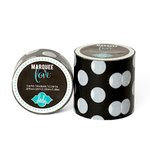 Heidi Swapp - Marquee Love Collection - Washi Tape - Black Polka Dot - 2 Inches Wide, COMING SOON
